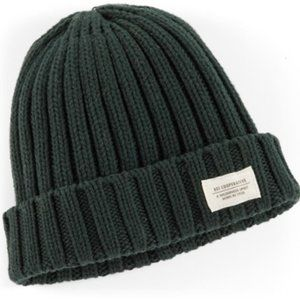 REI Cooperative Wallace Patch Beanie Green OS